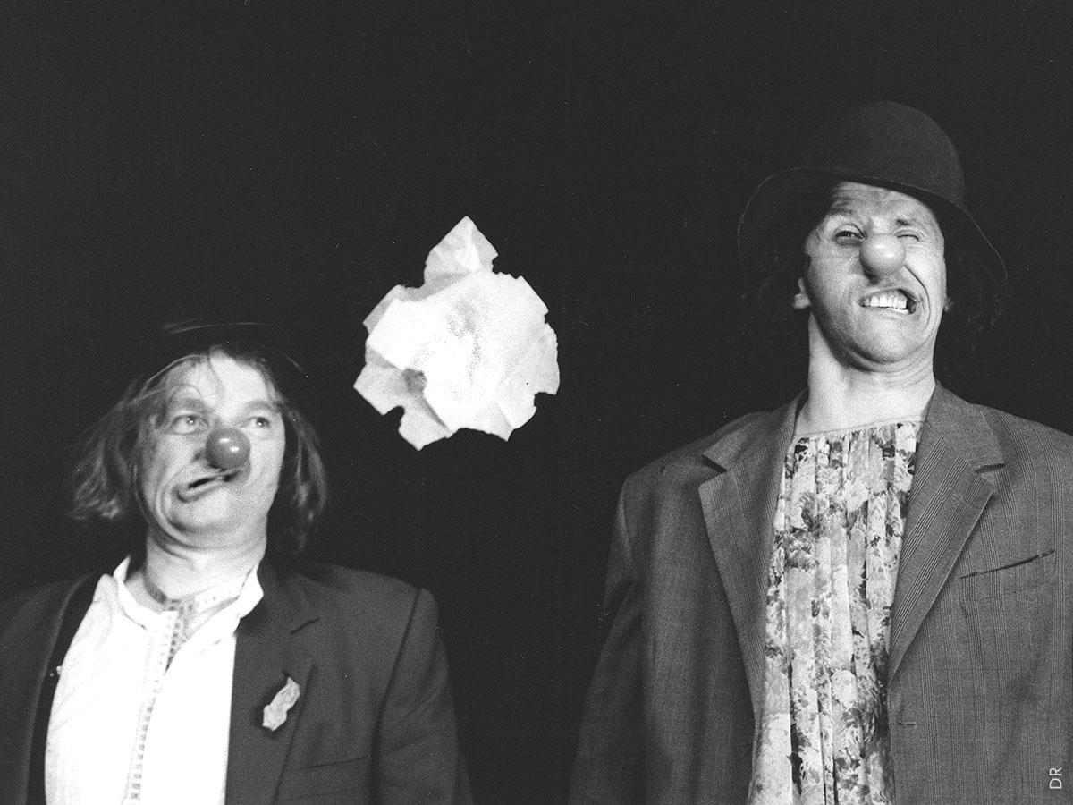 LE RIRE DU CYCLONE | Philippe Dormoy, Jean-Yves Pénafiel (Clowns) | DR